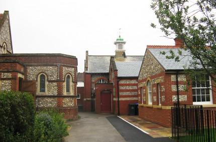 St Mathew's Church in Worthing